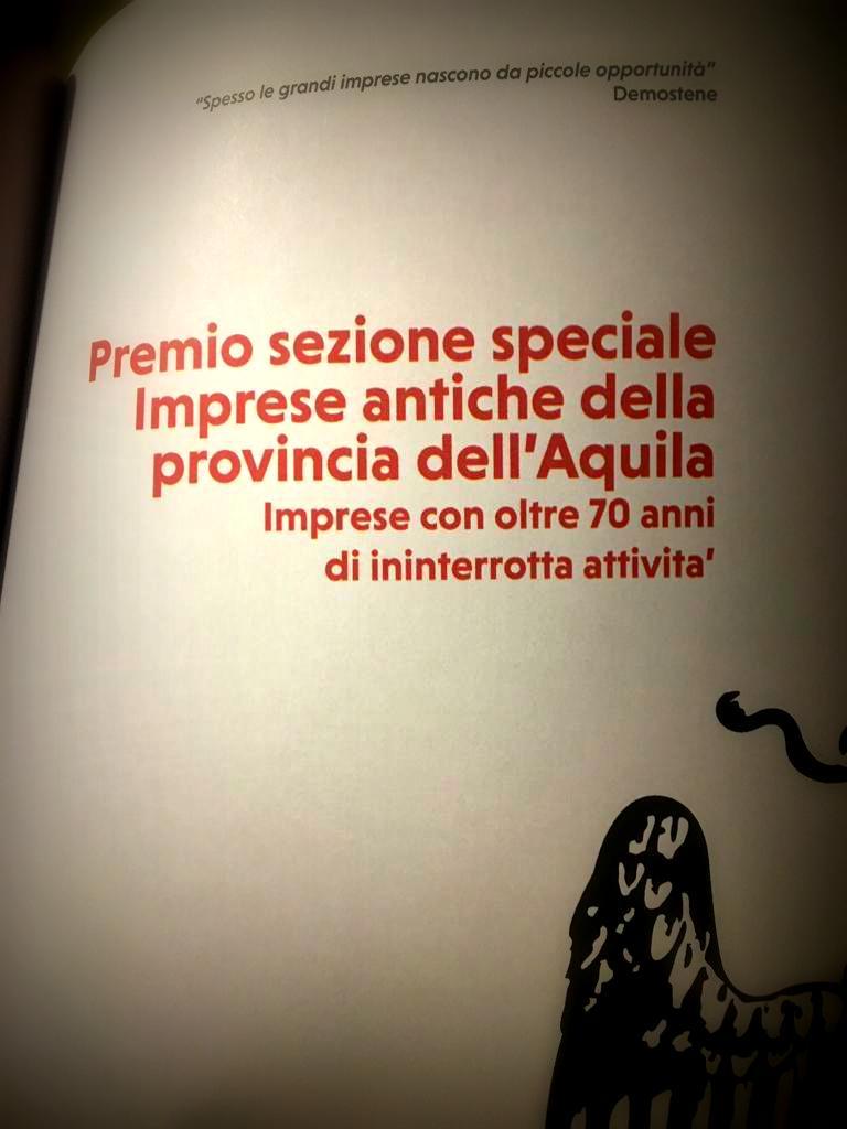Premio Camera di Commercio dell'Aquila 2014